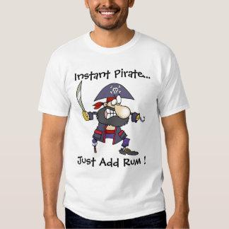 ¡El pirata Buccaner - pirata inmediato - apenas Poleras