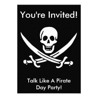 El pirata de Jack Rackham invita