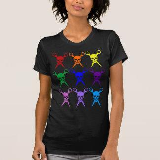 El pirata esquila el arco iris 2009 transparente camisetas