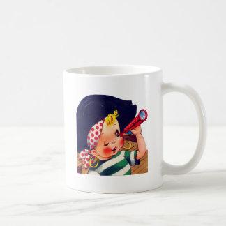 El pirata más pequeño taza de café