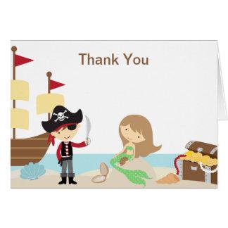 El pirata y la sirena le agradecen las tarjetas de