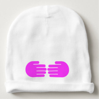 el Pis-uno-abucheo da el gorra del bebé (rosa y el Gorrito Para Bebe