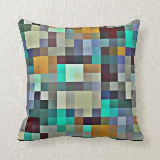 El pixel teja la almohada abstracta - colores