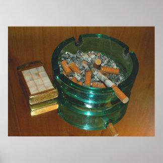 El placer de los fumadores posters