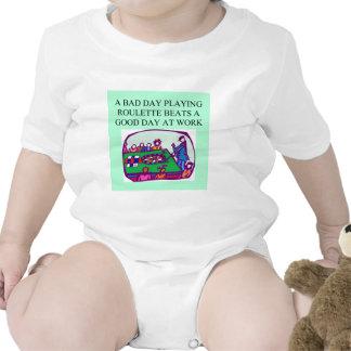 el placer de un jugador de la ruleta trajes de bebé