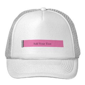 El placer del damasco en rosa maneja esta categorí gorro de camionero
