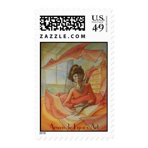 El placer del descubrimiento sello