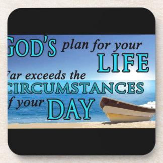 El plan de dios para su vida posavaso