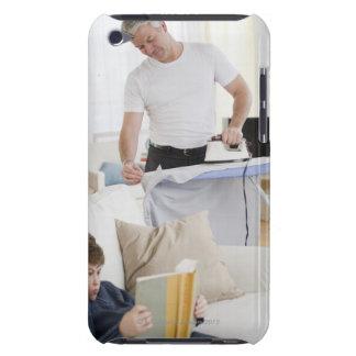 El planchar del padre Case-Mate iPod touch protectores