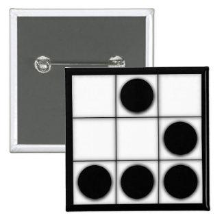 El planeador: Un botón universal del emblema del p