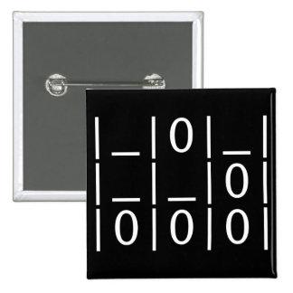 El planeador: Un botón universal del emblema del p Pin