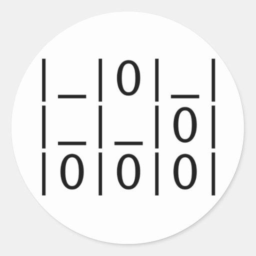 El planeador: Un pegatina universal del emblema
