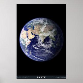 El planeta azul póster