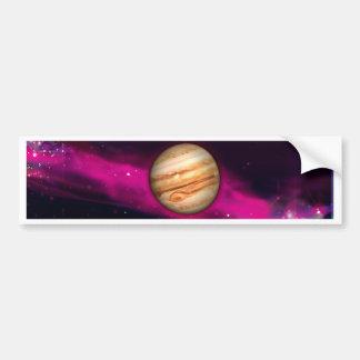 El planeta Júpiter Pegatina De Parachoque