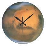 El planeta Marte Relojes De Pared