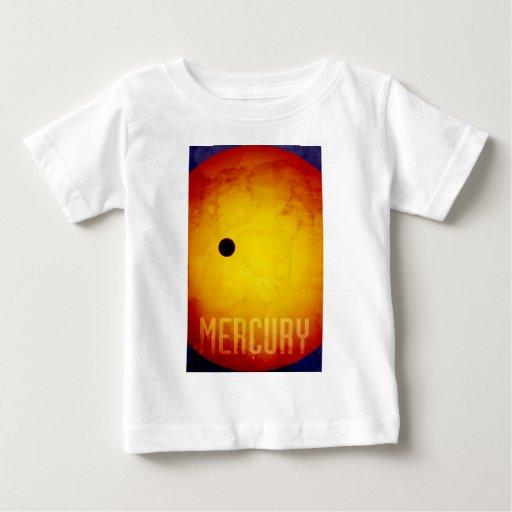 El planeta Mercury Playera Para Bebé