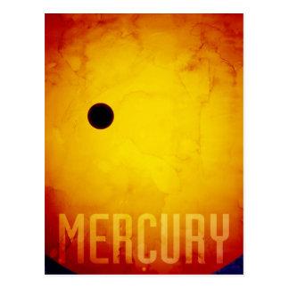 El planeta Mercury Tarjetas Postales