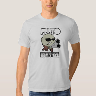 El planeta Plutón Playera