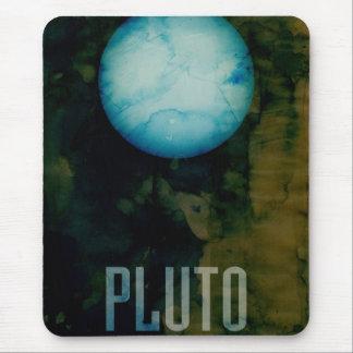 El planeta Plutón Alfombrilla De Ratón