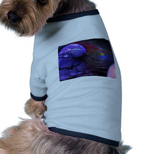 El planeta púrpura camisetas de mascota