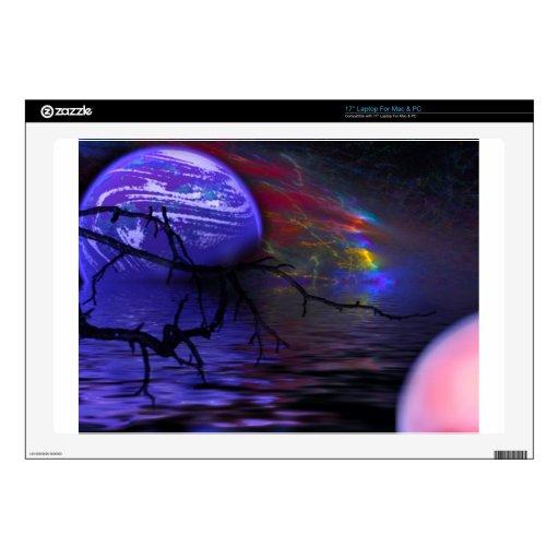 El planeta púrpura skins para 43,2cm portátil