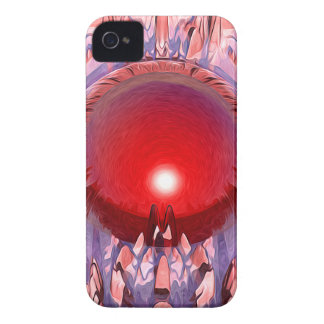 El planeta rojo Case-Mate iPhone 4 coberturas