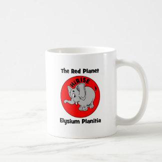 El planeta rojo taza clásica