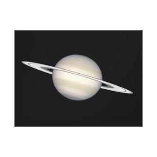 El planeta Saturn Impresiones De Lienzo