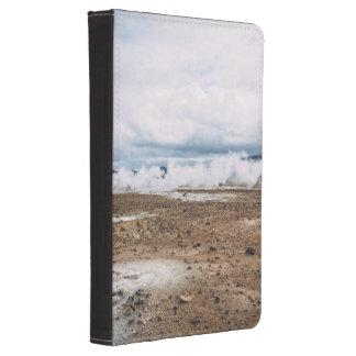 El planeta temático, tierra Fart el desierto Funda De Kindle 4