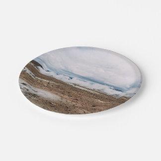 El planeta temático, tierra Fart el desierto Plato De Papel De 7 Pulgadas