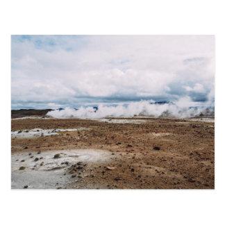 El planeta temático, tierra Fart el desierto Postales