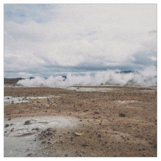 El planeta temático, tierra Fart el desierto Telas