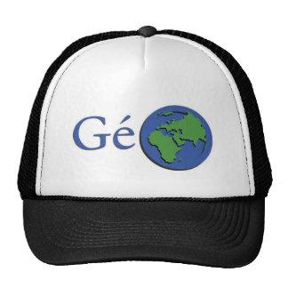 el planeta tierra - geografía gorros bordados