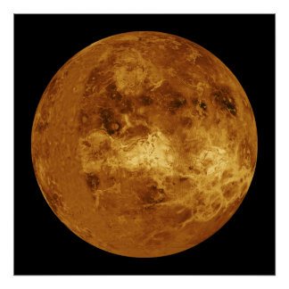 El planeta Venus Póster