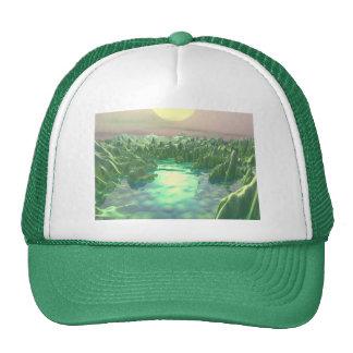 El planeta verde gorras