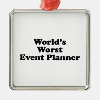 El planificador de eventos peor del mundo adorno para reyes
