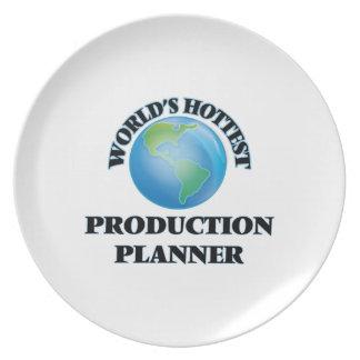 El planificador más caliente de la producción del plato para fiesta