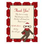 el PLANO 4x5 le agradece cardar el mono rojo Argyl Anuncios Personalizados