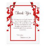 el PLANO 4x5 le agradece cardar la flor de cerezo  Invitaciones Personales