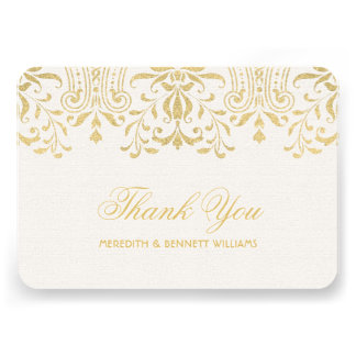 El plano le agradece encanto del vintage del oro d comunicado personal