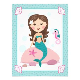 El plano lindo del chica de little mermaid le agra comunicado personal