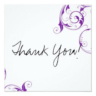 El plano púrpura del remolino le agradece las comunicado personal