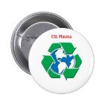El plasma de CSL recicla el botón Pin Redondo De 2 Pulgadas