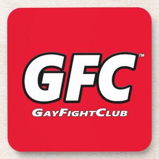 El plástico de la calidad de GayFightClub™ bebe Posavaso