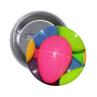 El plástico Eggs el botón Pin Redondo De 2 Pulgadas