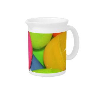 El plástico Eggs la jarra