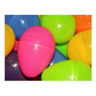 El plástico Eggs la postal