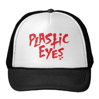 El plástico observa el gorra del logotipo