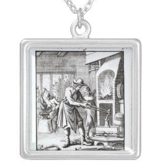 El platero, 1718 colgante cuadrado