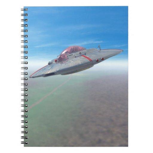 El platillo volante note book